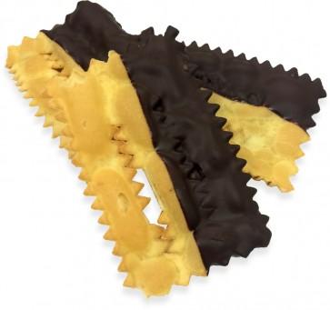 Chiacchiere ricoperte al Cioccolato
