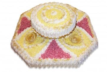 Torta Esagonale