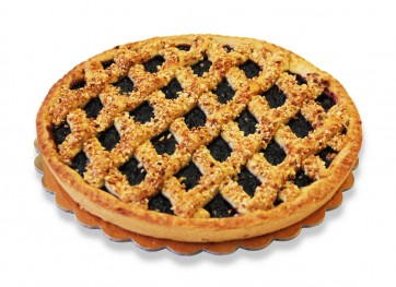 crostata al mirtillo caramellata