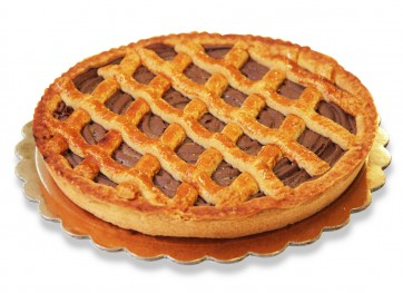 crostata di crema gianduia