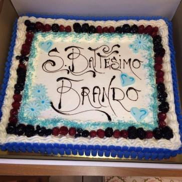 torta cerimonia battesimo