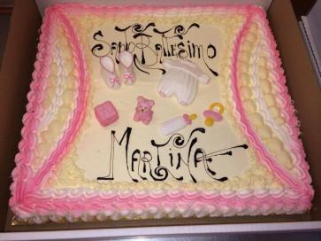 torta battesimo più soggetti a tema