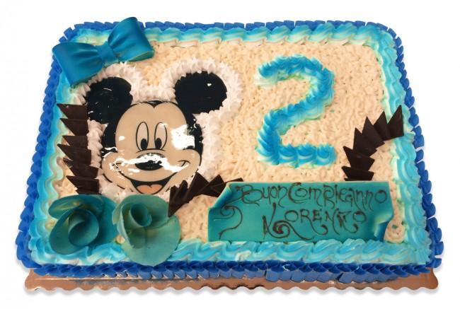 Torta Compleanno Bimbo A Fabbrica Artigianale