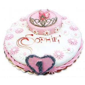 torta pasta da zucchero speciale bimba