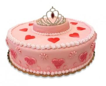 torta principessa di pasta da zucchero