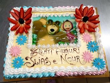 torta orso e marsha