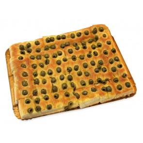 pizza e focacce assortite semplici (vassoio da 20 pz)